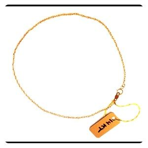 Jewelry - 14KT Yellow Gold Chain-style Ankle Bracelet